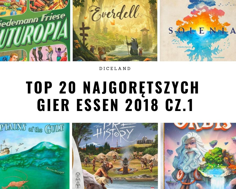 Top Essen 2018 cz1 Top najgorętszych gier na Essen 2018 cz.1