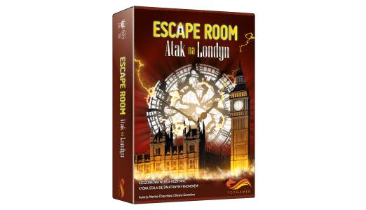 Atak na Londyn Planszowy Express #87