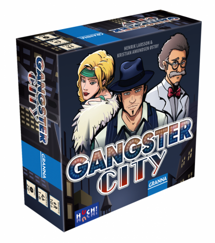 Gangster City Planszowy Express #87