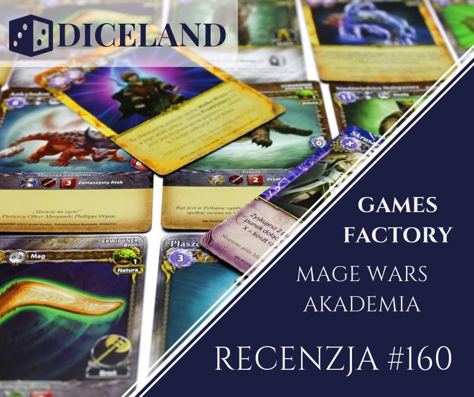 Recenzja 160 Recenzja #160 Mage Wars Akademia