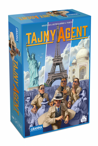Tajny Agent Planszowy Express #87