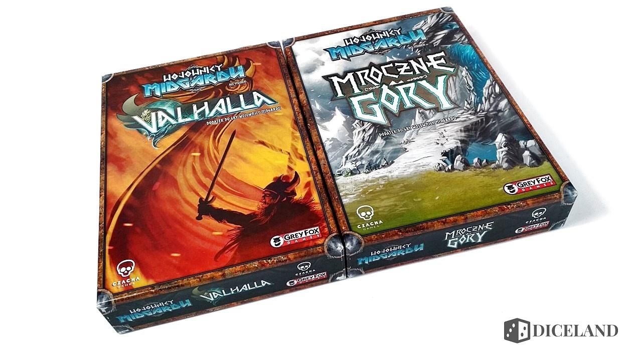 Valhalla i Mroczne Góry 1 Recenzja #169 Dodatki do Wojowników Midgardu (Mroczne Góry i Valhalla)
