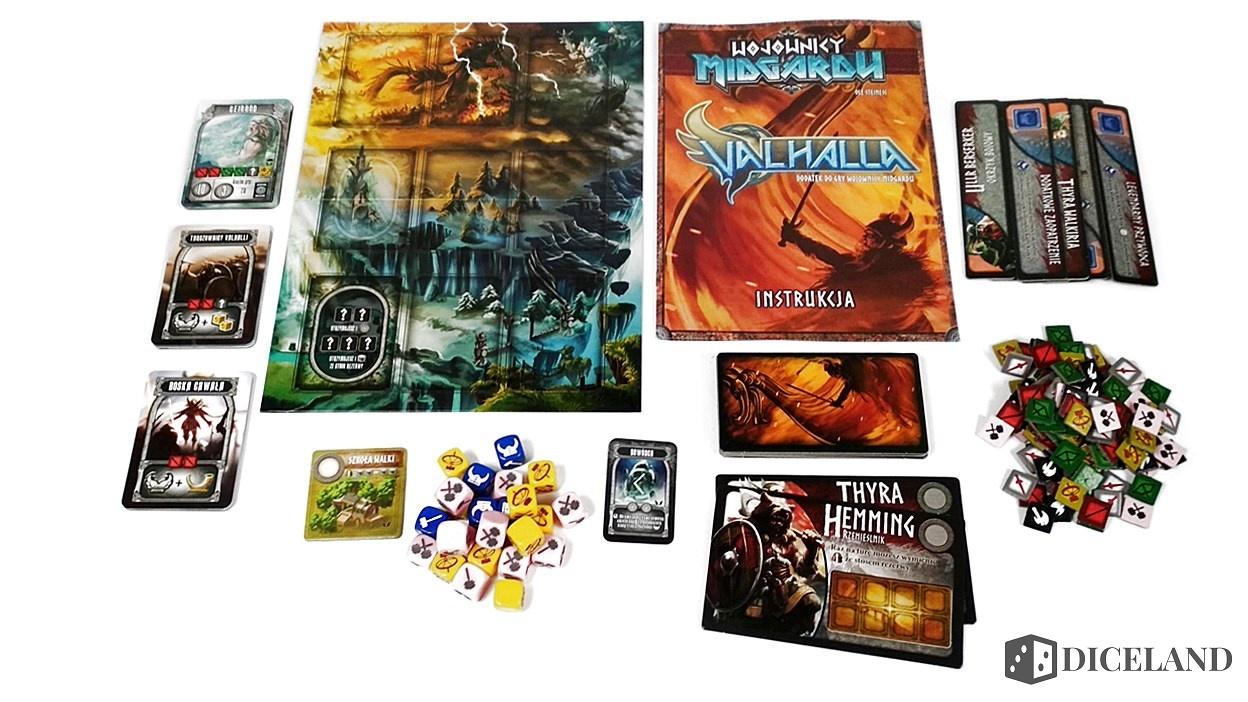 Valhalla i Mroczne Góry 15 Recenzja #169 Dodatki do Wojowników Midgardu (Mroczne Góry i Valhalla)
