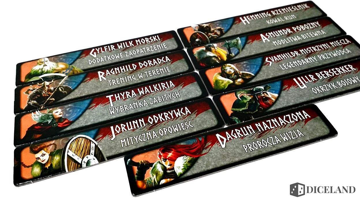 Valhalla i Mroczne Góry 19 Recenzja #169 Dodatki do Wojowników Midgardu (Mroczne Góry i Valhalla)