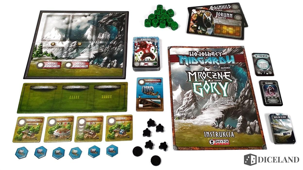 Valhalla i Mroczne Góry 2 Recenzja #169 Dodatki do Wojowników Midgardu (Mroczne Góry i Valhalla)