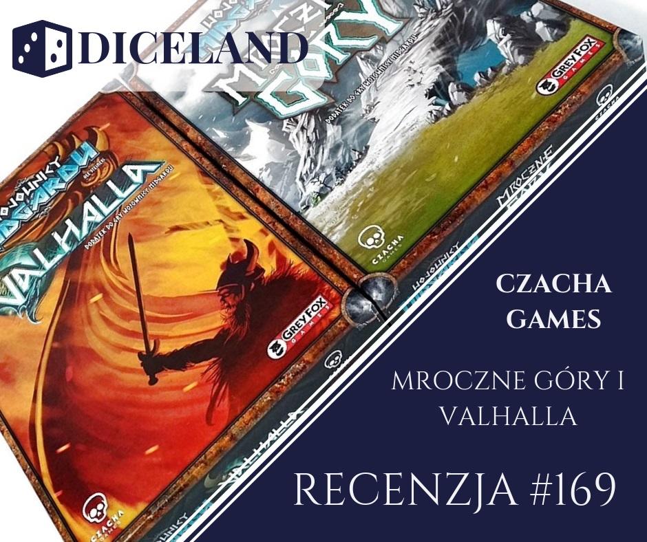 Recenzja 169 Recenzja #169 Dodatki do Wojowników Midgardu (Mroczne Góry i Valhalla)