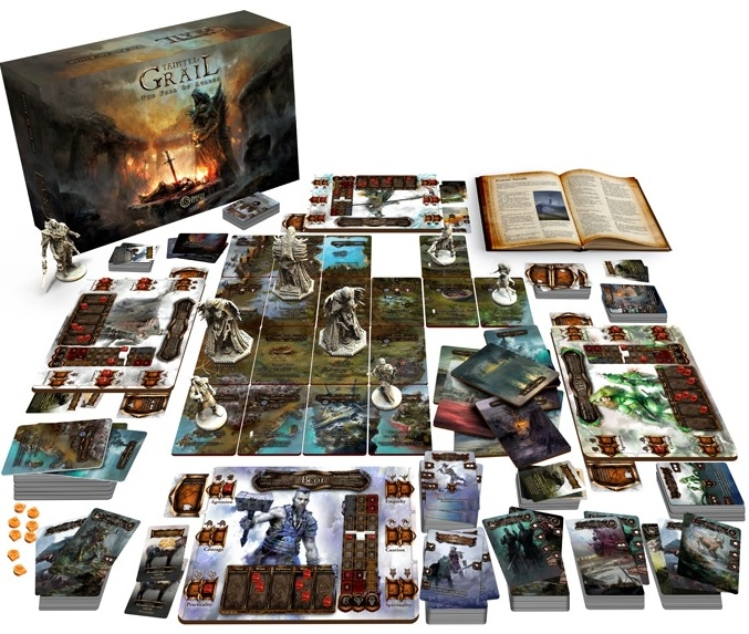 Grail Diceland obserwuje Kickstarter #66