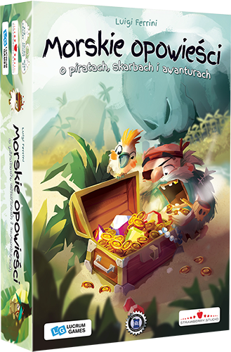 Morskie opowieści BOX 3D LEWY Planszowy Express #92