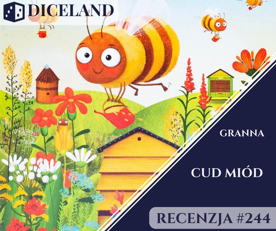 Recenzja 244 Cud Miód Edukacyjna Gra O Pszczółkach