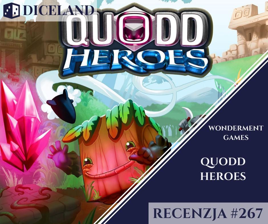 Recenzja 267 Recenzja #267 Quodd Heroes