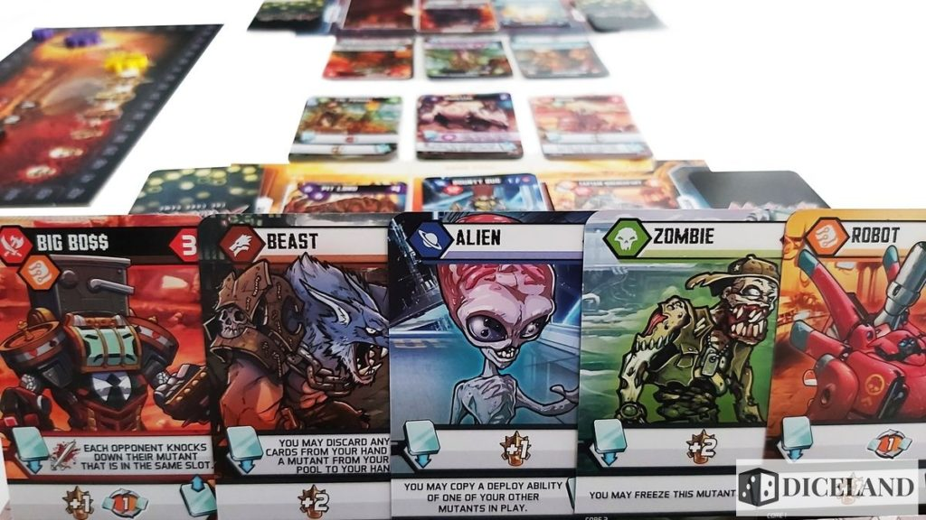 Mutants The Card Game 16 1024x576 Recenzja #294 Mutants: The Card Game