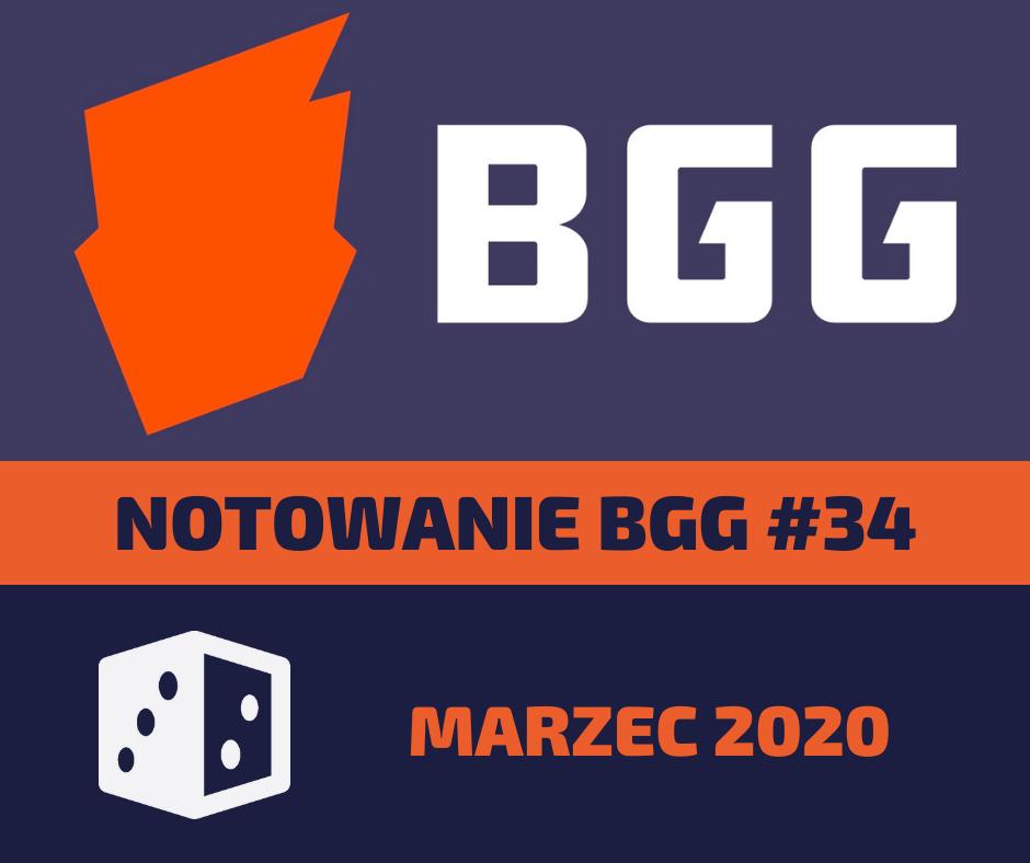 Notowanie BGG 34 Notowanie BGG #34   Marzec 2020