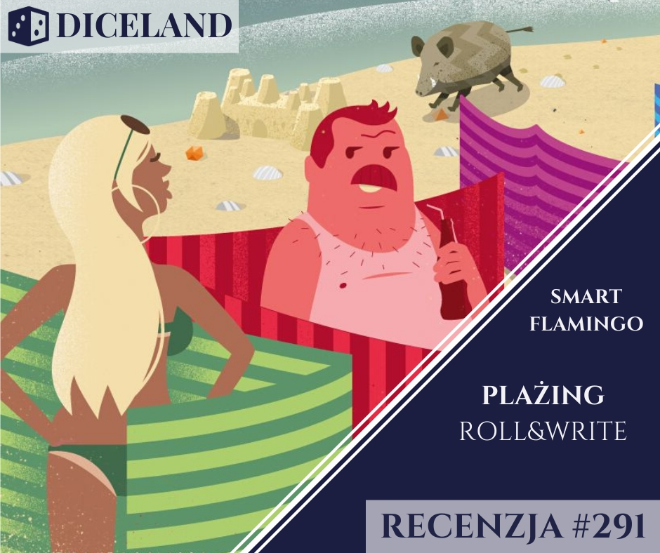 Recenzja 291 Recenzja #291 Plażing Roll & Write