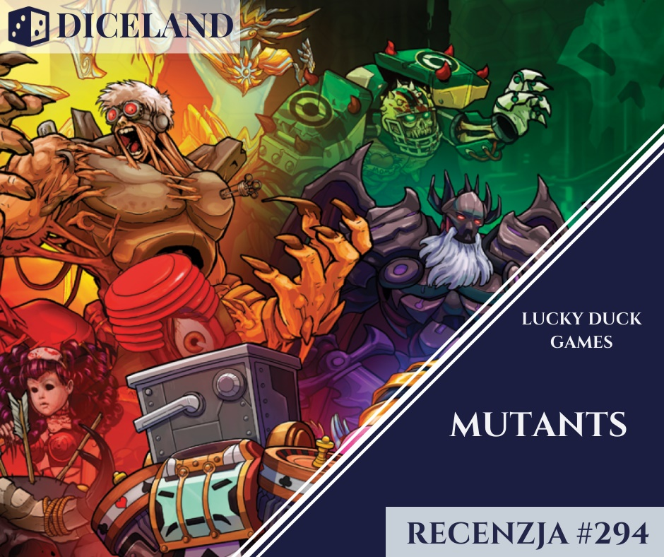 Recenzja 294 Recenzja #294 Mutants: The Card Game