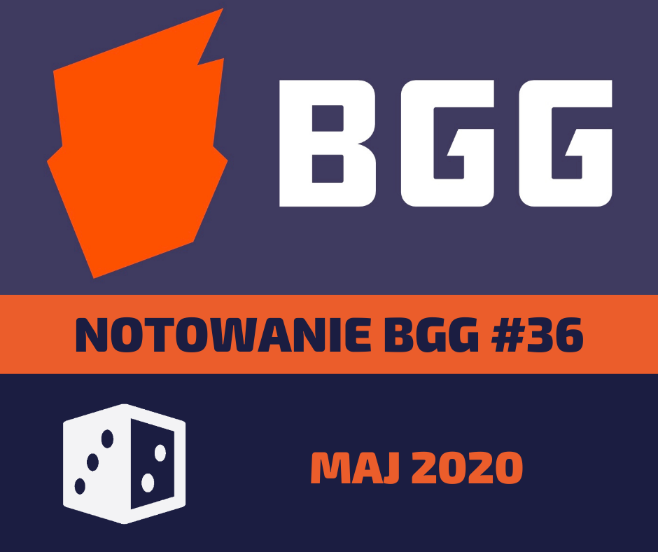 Notowanie BGG 36 Notowanie BGG #36   Maj 2020